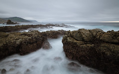 Big Sur (andreaskoeberl) Tags: ocean california longexposure sea seascape nature water coast us nikon rocks day cloudy tripod bigsur 1685 d7000 nikon1685 nikond7000 andreaskoeberl