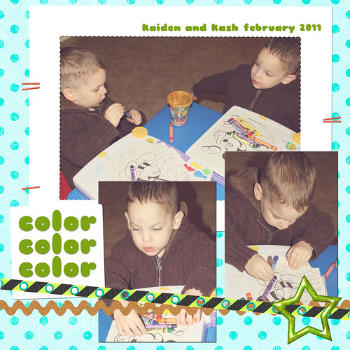 they love to color