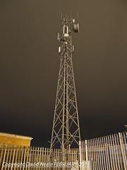 Tower at Night - Harlescott (Daveyboy_75) Tags: longexposure tower night shropshire shrewsbury mast substation radiotower radiomast communicationstower mobilephonemast telecomstower communicationsmast harlescott telecomsmast
