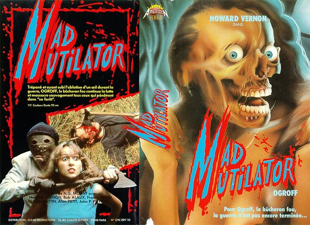 Mad Mutilator (VHS Box Art)
