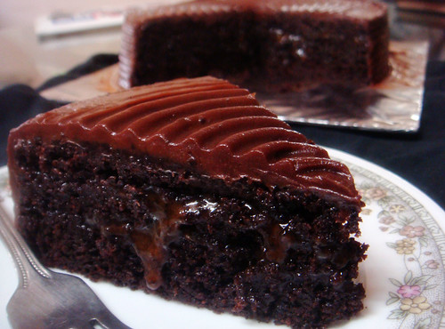 Chocolate Salted Caramel Cake