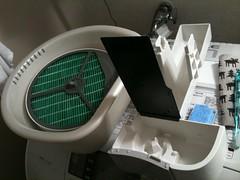 加湿器の加湿フィルターの掃除
