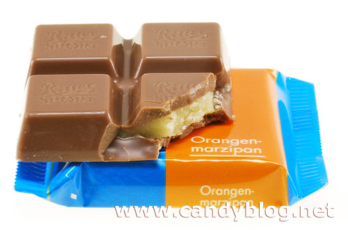 Ritter Sport Orange Marzipan