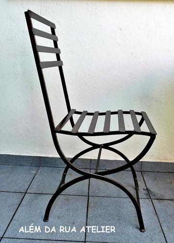 cadeira de ferro