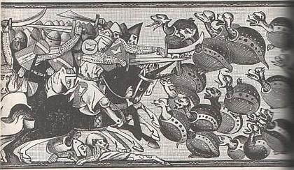 Аляксандр Македонскі змагаецца з чарапахамі