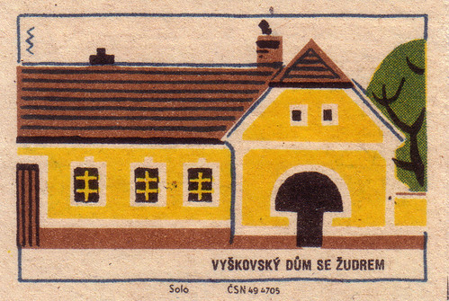 Vyškov house with porch