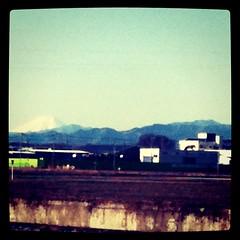 日曜日の富士山