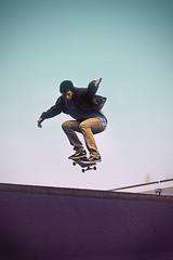 J Hill Edit (Cameron Browne) Tags: blue color contrast dark high purple shot skateboarding action picture jordan skate edges