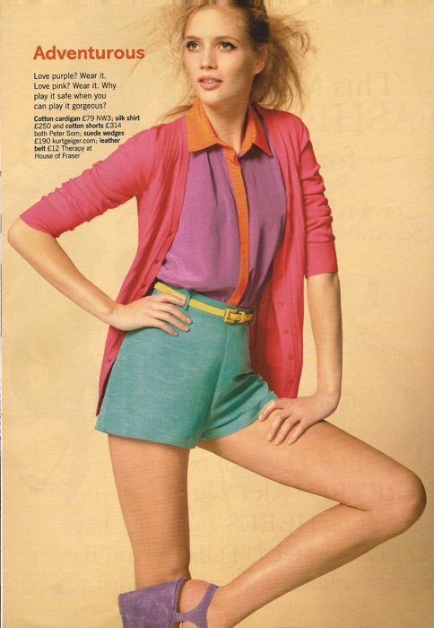 Glamour March 2011 Pop your colour editorial 3