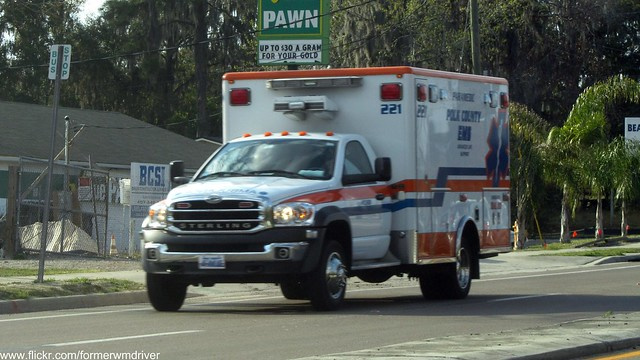 county new rescue truck florida ambulance medical vehicle dodge service fl sterling emergency ram medic paramedic ems emt polk 3500