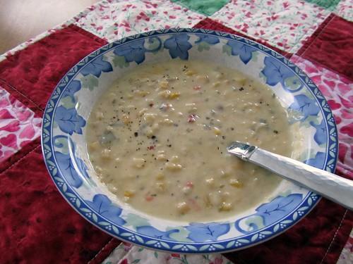 Crabby Corn Chowder