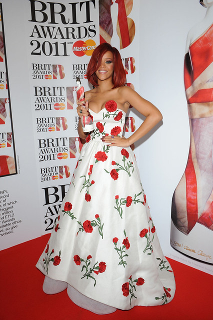 Ceremonie des Brits Awards 2011. Salle de presse. Lib. SF