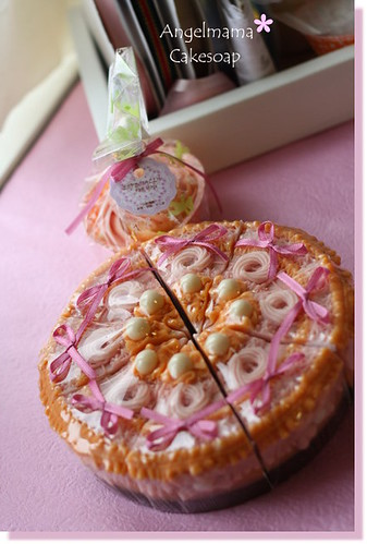 天使媽媽蛋糕皂 028