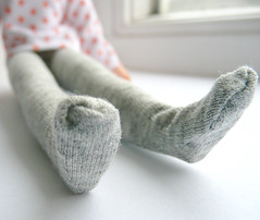 Blythe tights Marl grey