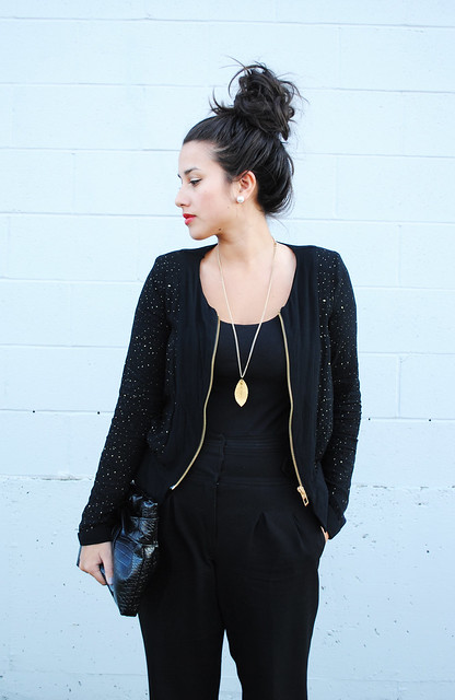black and gold jkt