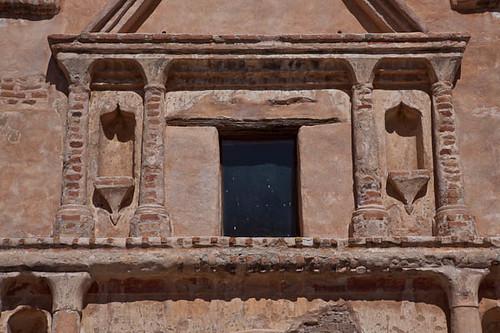 Detail of Tumacacori Exterior