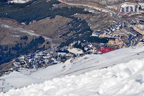 Vista de la urbanización de Sierra Nevada