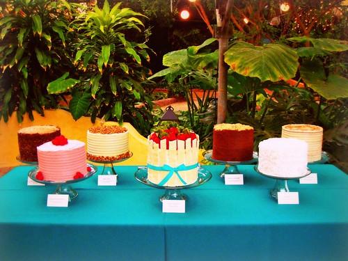 Bradstreet Wedding - Cake Buffet
