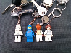 Lego key rings (jodyodea) Tags: keys keychain lego vietnam hanoi