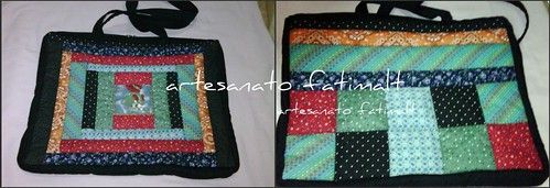 Bolsa para notebook -patchwork- by fatimalt