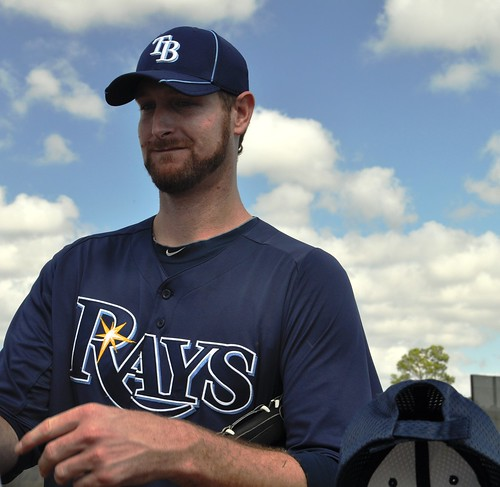 Jeff Niemann, Tampa Bay Rays Spring Training, Feb. 21, 2011