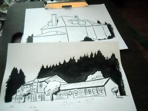 Drawing buildings
