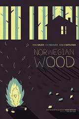 Norwegian Wood Poster (Patrick O'Leary Illustration) Tags: art illustration poster typography design norwegianwood patrickoleary