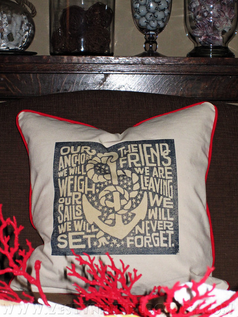 Sailors Song Pillow