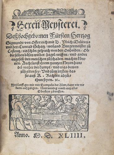 Title Page of De lamiis et phitonicis mulieribus