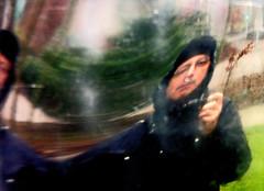 getting it right (Bim Bom) Tags: portrait distortion reflection self mirror