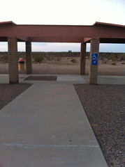 Empty Wheelchair Picnic Area