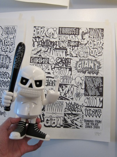 Mike Giant x Reckless Toys