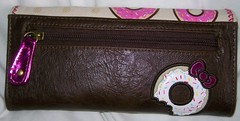 ello Kitty x Loungefly Donut wallet back