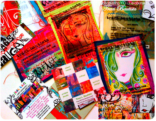 creative Y.O.U. package~ handmade business cards