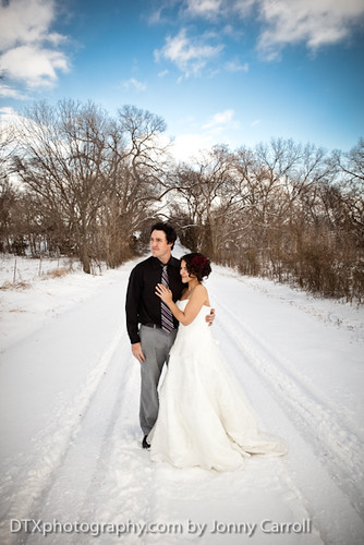 Monette & Andy Snow Bridals