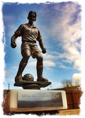 Football award.