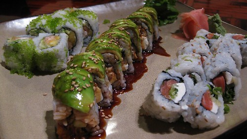 fly to hawaii roll, caterpillar roll, phil roll