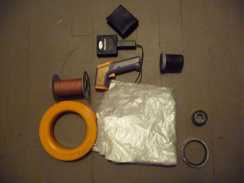 solar balloon building and flying kit