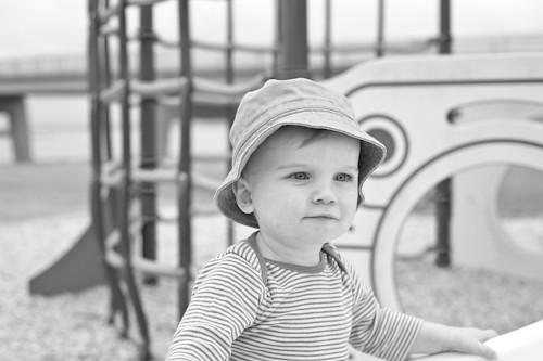 Turi at the park