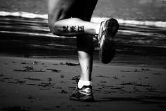 (fertraban) Tags: beach sport gijn playa run deporte sanlorenzo tatoo tatu tatuaje correr piernas xixn ltytr1