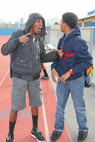 sports losangeles track highschool practice crenshaw damorreajefferson nolangrigsby