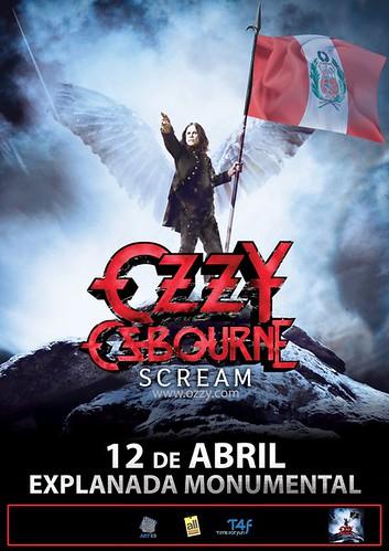 Ozzy Osbourne en Lima - Explanada del Monumental