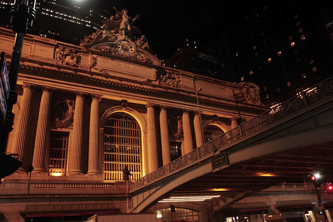 Grand Central, at night