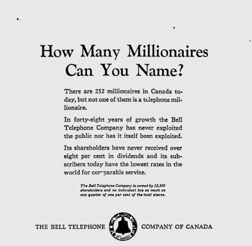 Ottawa Citizen - Bell Ad March 4 1927