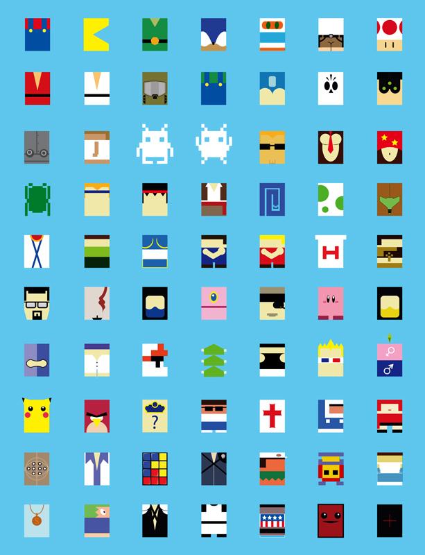 Minimalist Game Characters St Eutychus