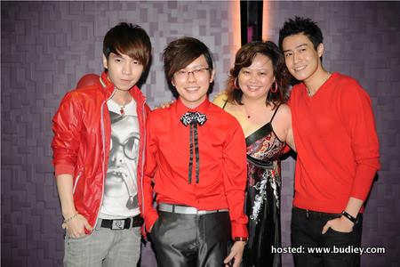 Gary Wong, Xavier Mah & Selina Kok & Aaron Lee