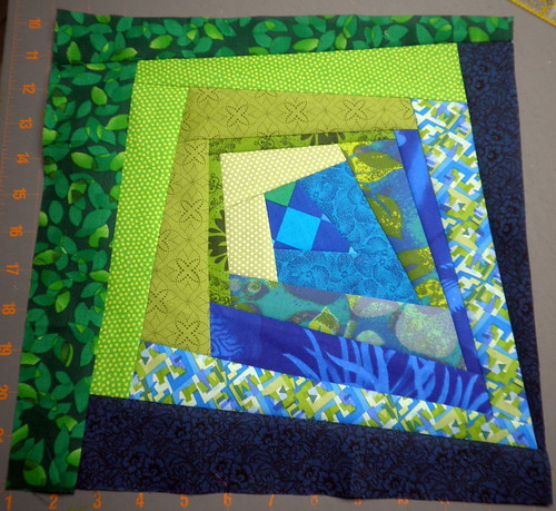 Sisterhood of the Traveling Quilt - My Block