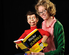 flickr for Dummies (Theresa Thompson) Tags: book flickr dummies 18 bingo dummy ventriloquist 2011 i i18 flickrbingoi18 bestshot2011 yourbestshot2011