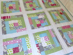 Green Elephant quilt by Duck Tales