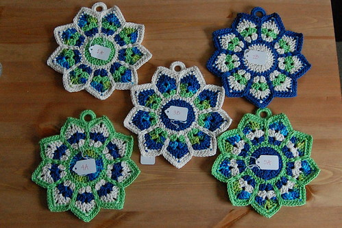 Crochet Potholders (Fronts)